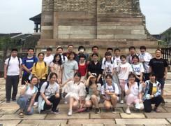 走进广富林文化遗址和方塔园——记暑期人文班社会实践活动