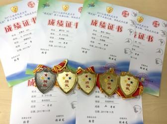 华二武术队参加上海市武术比赛,喜获五金一银!