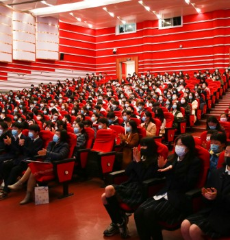 International Division School Opening Ceremony of Second Semester 2020 School Year