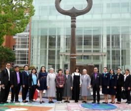泰国三所中学校领导及iGET领导来校访问