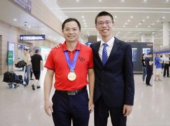 热烈祝贺我校贡晓荀同学在第50届国际物理奥林匹克竞赛中斩获金牌