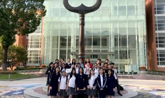 泰国交流师生到访我校国际部