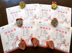 华二武术队参加上海市武术比赛,喜获2金2银3铜,集体太极拳优胜奖!