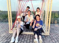 我校在2021同济大学——上海市中学生木构建造节暨奉贤新城建造体验活动中荣获佳绩