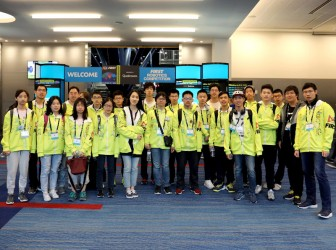 我校FRC机器人团队参加美国休斯顿总决赛