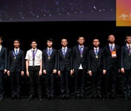 热烈祝贺我校陈澍同学在第20届亚洲物理奥林匹克竞赛中斩获金牌