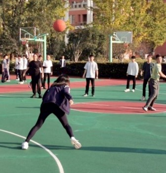 International Division's Sports Event – Dodgeball Game