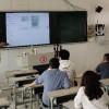理科支部和行政支部联合组织的智慧黑板使用经验交流会如期举行