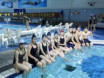 2017浦东新区阳光大联赛游泳比赛