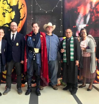 International Division Celebrates All Hallows' Day 2020