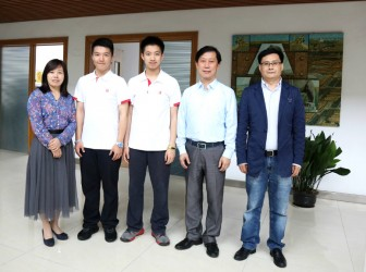 喜报:我校樊悦阳同学在69届英特尔国际科学与工程大奖赛上获得历史最佳成绩