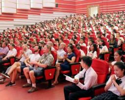 全新开端,不负秋日——记国际部新学期开学典礼