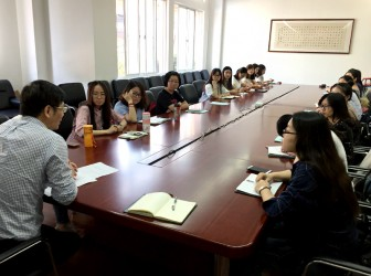 华东师范大学实习生团队进驻我校