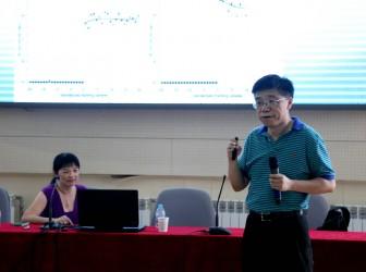 晨晖讲坛:86届校友王峻教授、蒋知勤博士回母校作报告
