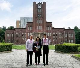 我校师生参加中日樱花科技交流项目