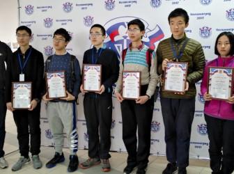 我校2位学生荣获第43届俄罗斯中学生数学奥林匹克邀请赛金牌