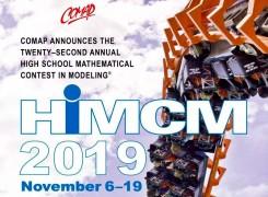 我校学生在HiMCM美国高中生数学建模比赛中荣获佳绩