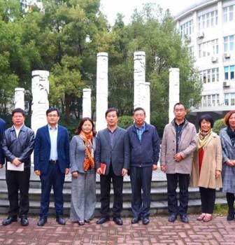 华二浦东教育集团周浦中学调研活动近日举行