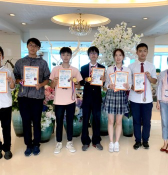 Our students win 4 Gold Medals at International Youth Science & Technology Practice Competition of Macao