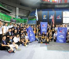 我校FRC机器人团队勇夺CRC冠军