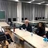 意大利罗马国立住读学校校方代表来访